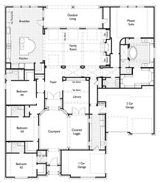 Megatel homes floor plan crestview 3860 square feet for Windsong project floor plan