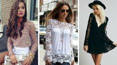 Super feminine og lækre blondetoppe i skøn kvalitet og mange flotte designs <3 <3  http://beautyanddresses.dk/toppe/?categories=toj