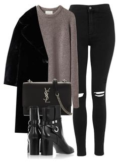 """Untitled #7093"" by laurenmboot ❤ liked on Polyvore featuring Topshop, La Garçonne Moderne, MANGO, Yves Saint Laurent and Isabel Marant"