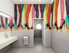 voomy IT park by Zaarchitects Kharkov 20 voomy IT park by Zaarchitects, Kharkov Ukraine Office Bathroom, Bathroom Interior, Commercial Design, Commercial Interiors, Visual Merchandising, Interior Inspiration, Design Inspiration, Warehouse Design, Restroom Design