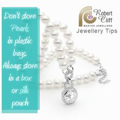 #JewelleryTips: how to care for your #pearls   #fashiontips #jewelrytips