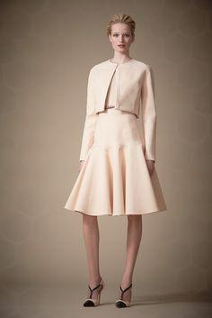 Carolina Herrera Pre-Fall 2014 Fashion Show - Maud Welzen