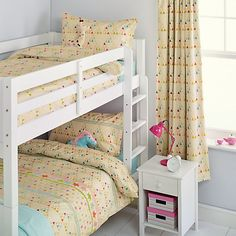 Buy little home at John Lewis Stars and Shapes Duvet Cover Set, Twin Pack, Single Online at johnlewis.com