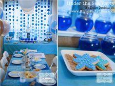 fiestas infantiles bajo el mar5 Fiesta para Niños Bajo el mar