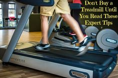 Don't Buy a Treadmill Until You Read These Expert Tips