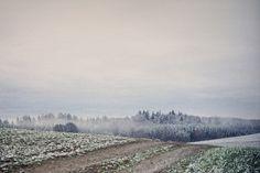 - winter fields / Pinterest: @yoliyox