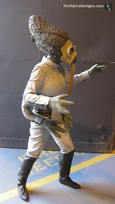 Star Wars Cantina Commercial - Costumes for Super Bowl Ad - Tom Spina Designs » Tom Spina Designs