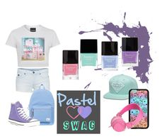 """""""Pastel Swag"""" by vj1234 on Polyvore"""