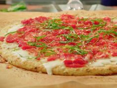 Get this all-star, easy-to-follow Cauliflower Crust Pizza recipe from Valerie Bertinelli