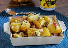 Patate al forno con bacon e salvia - ricetta americana Thanksgiving day