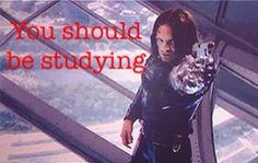 Inspirational Bucky is inspirational. And scary.<< Yes XD