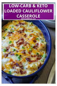 Low Carb Keto, Low Carb Recipes, Cooking Recipes, Healthy Recipes, Keto Crockpot Recipes, Skillet Recipes, Cooking Gadgets, Meatloaf Recipes, Loaded Baked Potato Casserole