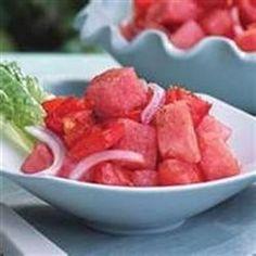 Watermelon Tomato Salad With Balsamic Dressing - Allrecipes.com