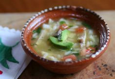Figuring out a dish that fits into our healthy diet after a long day of work or car-pooling can be a challenge. With the addition of some freshly chopped veggie and a little leftover chicken, a hot bowl of caldo de pollo is only minutes away.