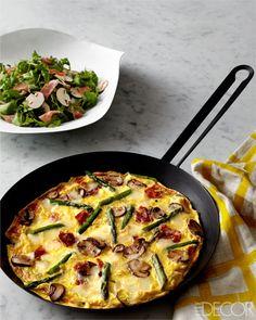 Daniel Boulud's Open-Faced Omelet