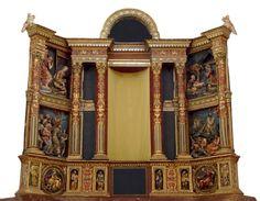 Retablo Mayor del monasterio de la Mejorada de Olmedo. Alonso de Berruguete