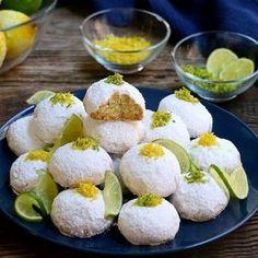Çaylı Limonlu Bademli Kurabiye