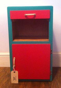 Items similar to Vintage bedside cabinet reloved on Etsy