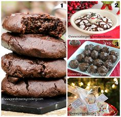 This roundup of delicious and awesome Christmas treats has it all. All these treats are perfect for holidays! Christmas Goodies, Christmas Desserts, Holiday Treats, Christmas Treats, Holiday Recipes, Merry Christmas, Yummy Treats, Delicious Desserts, Sweet Treats