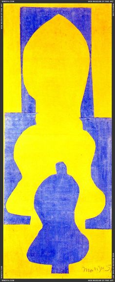 The Bell, 1951, by H. Matisse. #matisse #cutouts