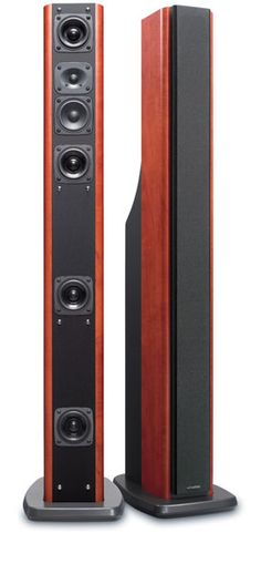 KENWOOD LS-X70-M_Floor standing Tall Body Speaker with Resonance Acoustic Tube System