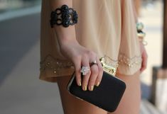I can't decide whether I love the ring or the bangle more. Either way, stunning.