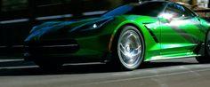 Chevrolet Corvette Stingray C7 (2014) car in Transformers: Age of Extinction (2014) @Chevrolet