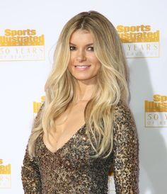 Marisa Miller makes blonde a symbol of power and strength. | #blonde #hair