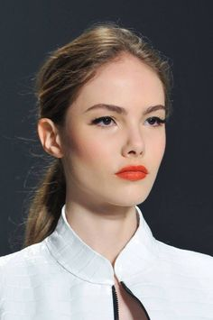 Love this model's makeup!!...❤️