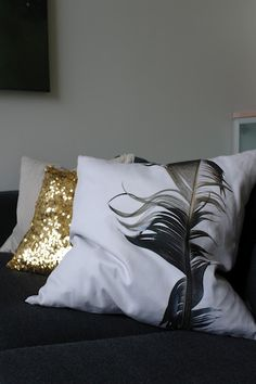 love the sequin pillow