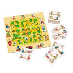 Shop Goki 56944 Puzzle Game, Find The Way, Multicolor. Puzzles, Markus Zusak, James Dashner, Matching Games, Agatha Christie, Classroom Activities, Tolkien, Games For Kids, Playing Cards