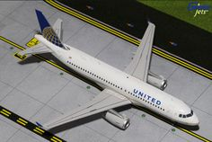 1/200 GeminiJets United Airlines Airbus A320-200 Diecast Model