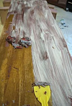 how to easily remove paint varnish from old furniture
