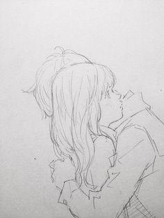 cute couple <3 #sketch #couple