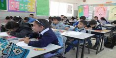 """Top News: """"PALESTINE POLITICS: Israel Forces its Curriculum in Palestinian Schools"""" - http://politicoscope.com/wp-content/uploads/2017/06/Palestinians-Children-at-School-Palestine-News.jpg - Faris, 18, chose to study the Israeli curriculum instead of the Palestinian equivalent in the hope that it will open more doors at colleges in Israel and help him get work there.  on Politics - http://politicoscope.com/2017/06/30/palestine-politics-israel-forces-its-curriculum-in-palestin"""