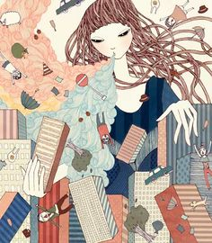 """Refreshing Talent Pool"" for The McKinsey by Yoko Furusho"