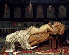 Francesco Paolo Michetti(İtalian, 1851-1929) – Odalisque