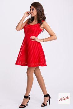 Sukienka rozkloszowana ZAPRASZAM NA Facebook'a SiSunia shop