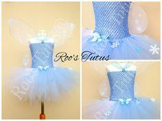 Periwinkle Fairy, (Tinkerbell) inspired tutu dress costume (Handmade). dress up