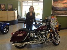 2015 Harley-Davidson® Dyna® Switchback…easily convertible from cruising to touring, it's like two bikes in one, with no compromises. Lindjo is a smart lady. Welcome to the Laconia Harley-Davidson® family! http://laconiaharley.com/New-Inventory.aspx #laconiaharley #harleydavidson