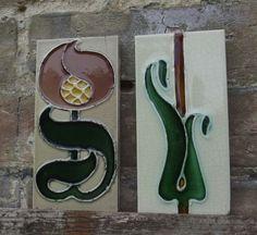 Carters Art Nouveau tiles