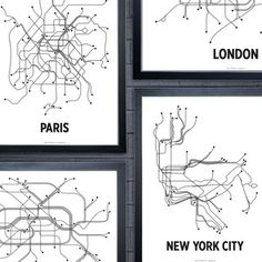LinePosters  Brilliantly Conceived Transit Maps