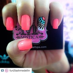 """ with ・・・ Cuando me preguntan por mis… Gorgeous Nails, Love Nails, Fun Nails, Pretty Nails, Pretty Nail Designs, Nail Art Designs, Nails For Kids, Bright Nails, Manicure E Pedicure"