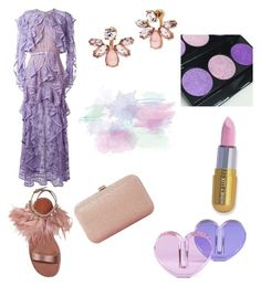 """""""Lavender & pink"""" by mcounce on Polyvore featuring Veritas, Elie Saab, Miu Miu, Dune, Marchesa and Forever 21"""