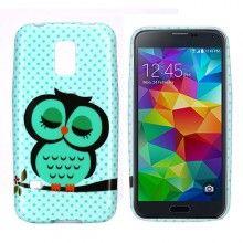 Funda Gel Samsung Galaxy S5 mini Design Animales Buho 16 $ 55,00