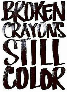 I wanted to share this today specifically. Maybe you have something rough you're going through right now or maybe you're just struggling to make it through another hectic Monday. Keep in mind that you are always loved and, no matter how you feel at the moment, you are still capable of amazing things and making the world beautiful! YOU can still color