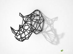 Wired Life Rhino by Dot San