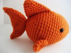 Goldfish Amigurumi Crochet Pattern