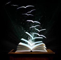 book, magic, imagination