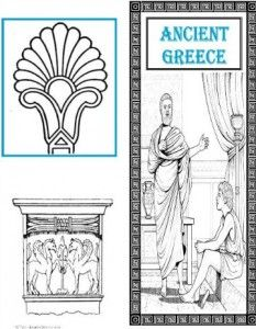 Ancient Greece Cover 3 for Ancient Greece Lapbook @ Tina's Dynamic Homeschool Plus